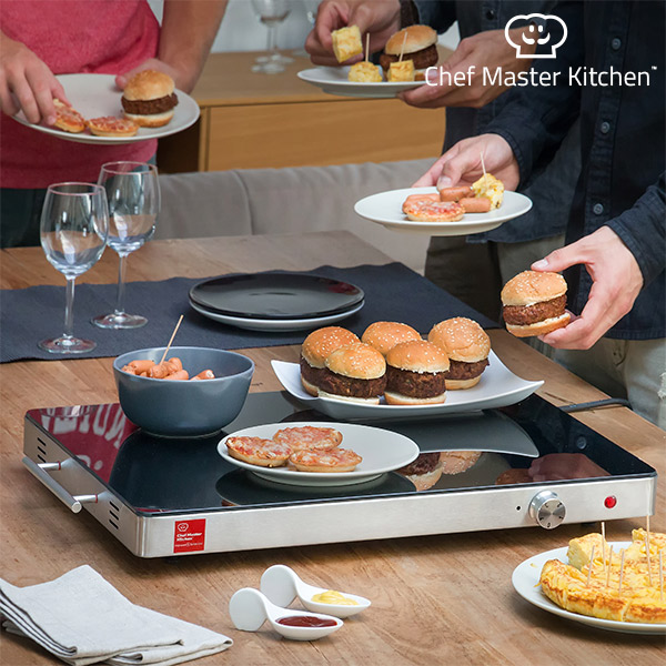 Chef Master Kitchen Serie S Food Warming Plate